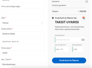 iyzico wordpress eklentisi kategori bazlı taksit engelleme
