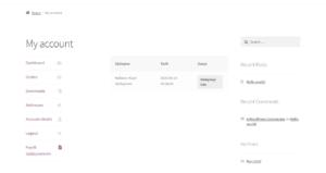 woocommerce kullanıcı sözleşme görüntüleme