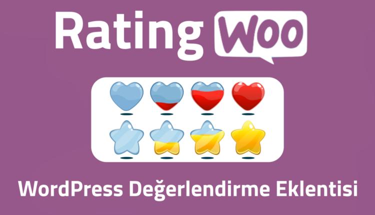 RatingWoo Wordpress Değerlendirme Eklentisi