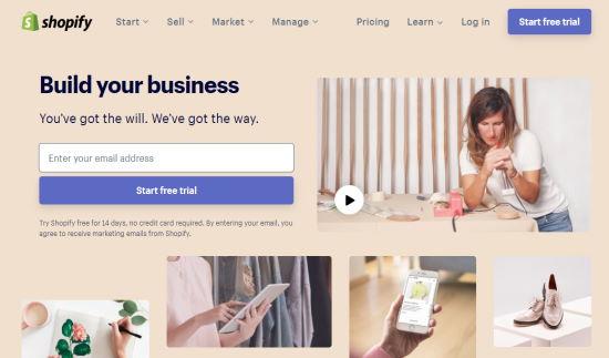 shopify-ucretsiz-e-ticaret