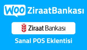 WooZiraatBankası Ziraat Bankası Sanal Pos Eklentisi