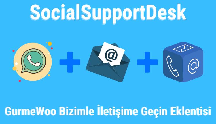 Wordpress SocialSupportDesk Eklentisi